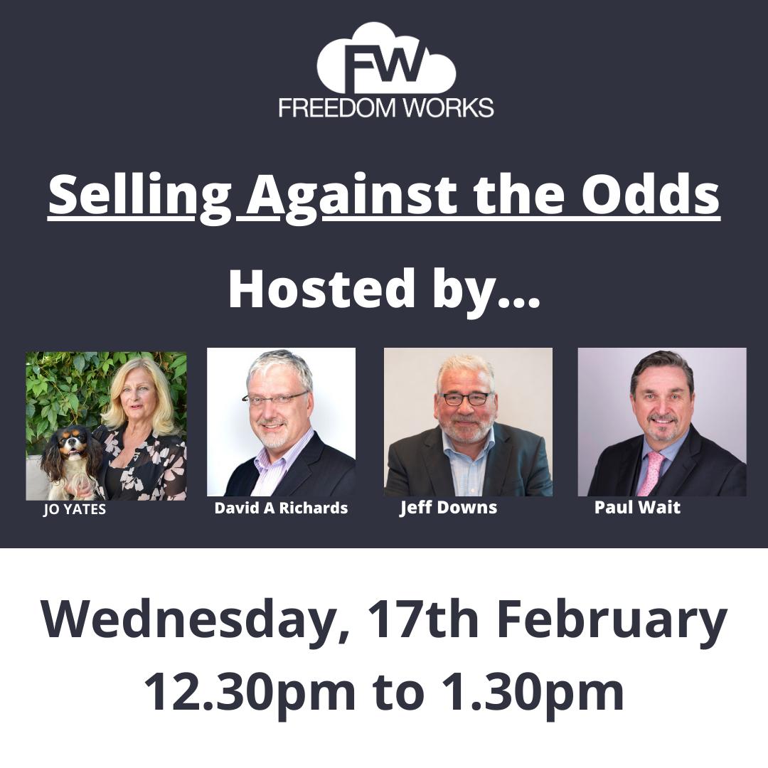 Webinar - Selling Against the Odds